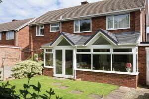 Gable Fronted Conservatory Roof