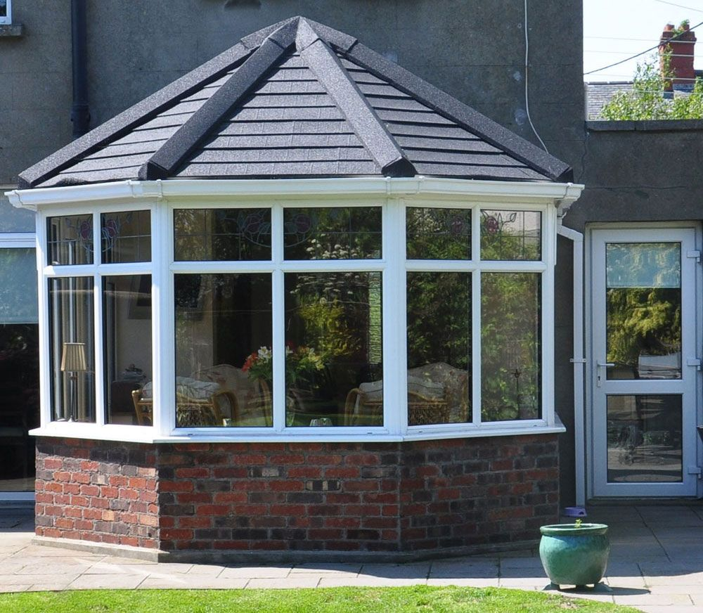 Insulated Victorian Conservatory Tiled Roof