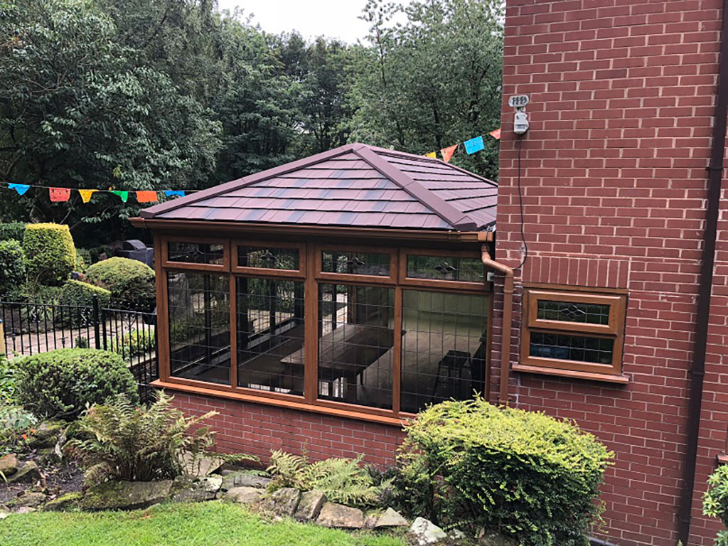 Conservatory Replacement Roof Burfield