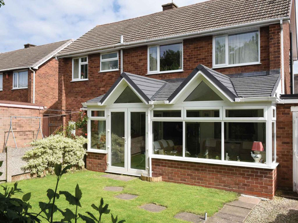 Gable Fronted Conservatory Roof Farnborough