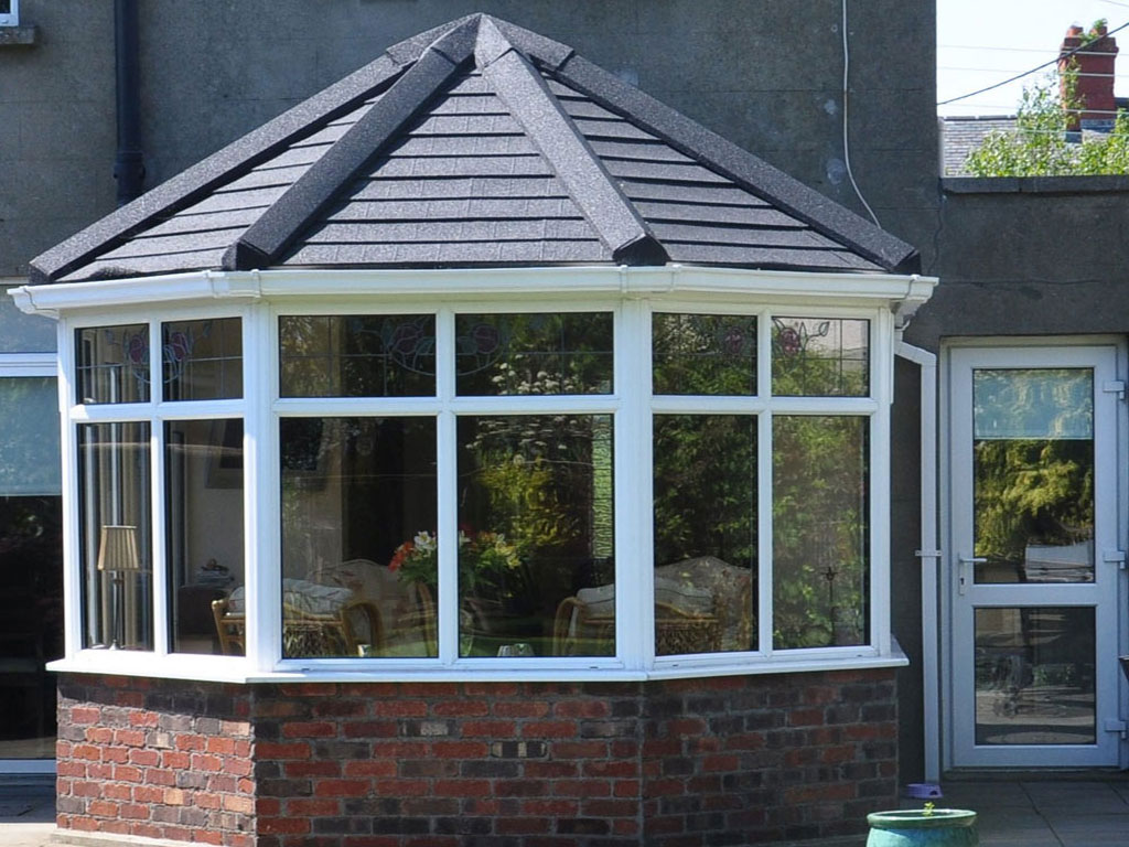 Insulated Victorian Conservatory Tiled Roof Farnborough