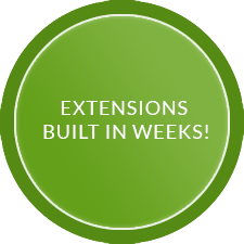 Extensions Built In Weeks