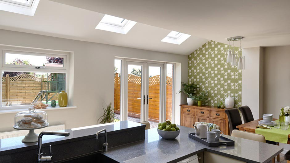 Velux Extension Kitchen Berkshire